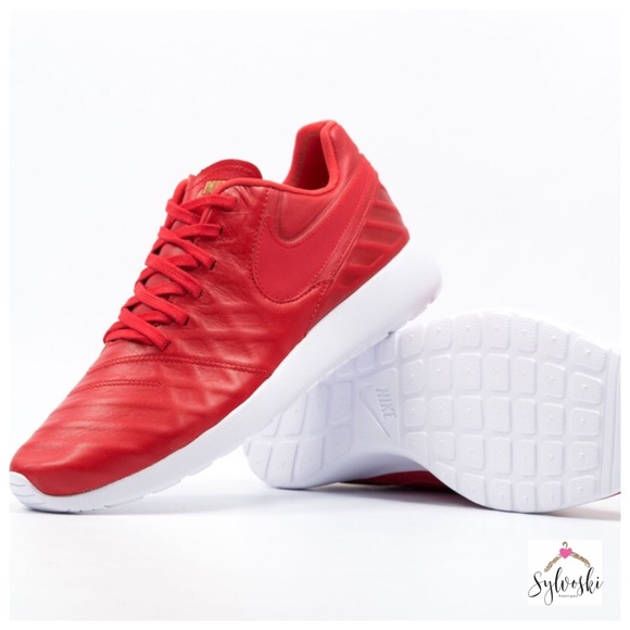 0a239c0db000 Nike Roshe Tiempo VI QS University Red White